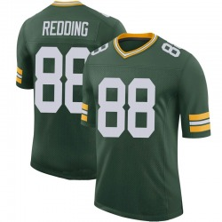 Teo Redding Green Bay Packers Men's Limited 100th Vapor Nike Jersey - Green