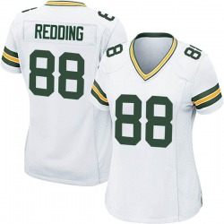 Teo Redding Green Bay Packers Women's Game Nike Jersey - White