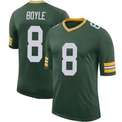 Tim Boyle Green Bay Packers Men's Limited 100th Vapor Nike Jersey - Green