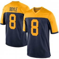 Tim Boyle Green Bay Packers Youth Game Alternate Nike Jersey - Navy