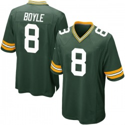 Tim Boyle Green Bay Packers Youth Game Team Color Nike Jersey - Green