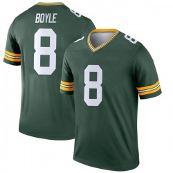 Tim Boyle Green Bay Packers Youth Legend Nike Jersey - Green
