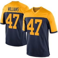 Tim Williams Green Bay Packers Men's Game Alternate Nike Jersey - Navy