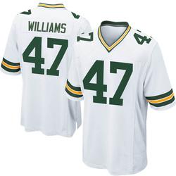 Tim Williams Green Bay Packers Men's Game Nike Jersey - White