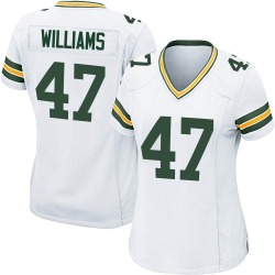 Tim Williams Green Bay Packers Women's Game Nike Jersey - White