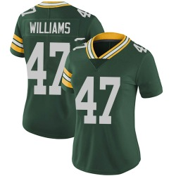 Tim Williams Green Bay Packers Women's Limited Team Color Vapor Untouchable Nike Jersey - Green