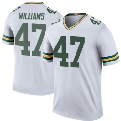 Tim Williams Green Bay Packers Youth Color Rush Legend Nike Jersey - White