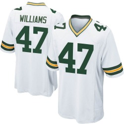 Tim Williams Green Bay Packers Youth Game Nike Jersey - White