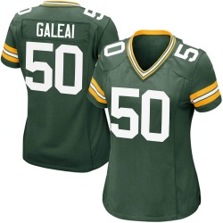 Tipa Galeai Green Bay Packers Women's Game Team Color Nike Jersey - Green