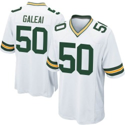 Tipa Galeai Green Bay Packers Youth Game Nike Jersey - White