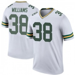 Tramon Williams Green Bay Packers Men's Color Rush Legend Nike Jersey - White