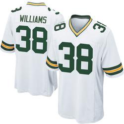Tramon Williams Green Bay Packers Men's Game Nike Jersey - White