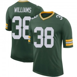 Tramon Williams Green Bay Packers Men's Limited 100th Vapor Nike Jersey - Green