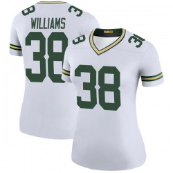 Tramon Williams Green Bay Packers Women's Color Rush Legend Nike Jersey - White