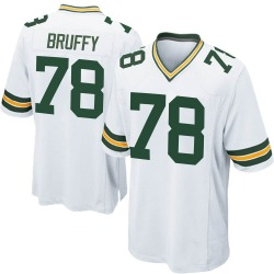 Travis Bruffy Green Bay Packers Men's Game Nike Jersey - White