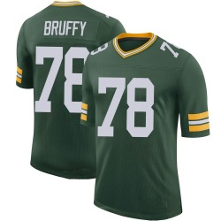 Travis Bruffy Green Bay Packers Men's Limited 100th Vapor Nike Jersey - Green
