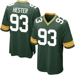 Treyvon Hester Green Bay Packers Men's Game Team Color Nike Jersey - Green