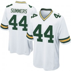 Ty Summers Green Bay Packers Men's Game Nike Jersey - White