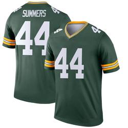 Ty Summers Green Bay Packers Men's Legend Nike Jersey - Green