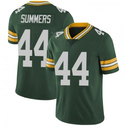 Ty Summers Green Bay Packers Men's Limited Team Color Vapor Untouchable Nike Jersey - Green