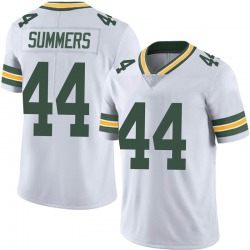 Ty Summers Green Bay Packers Men's Limited Vapor Untouchable Nike Jersey - White