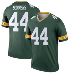 Ty Summers Green Bay Packers Youth Legend Nike Jersey - Green