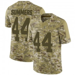 Ty Summers Green Bay Packers Youth Limited 2018 Salute to Service Nike Jersey - Camo