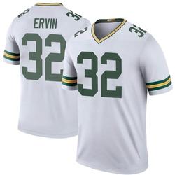 Tyler Ervin Green Bay Packers Men's Color Rush Legend Nike Jersey - White