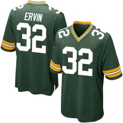 Tyler Ervin Green Bay Packers Men's Game Team Color Nike Jersey - Green