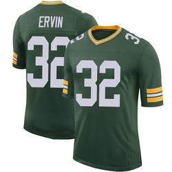 Tyler Ervin Green Bay Packers Men's Limited 100th Vapor Nike Jersey - Green