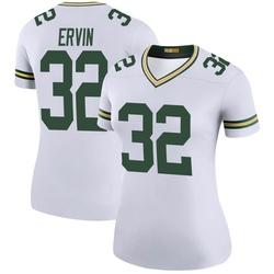Tyler Ervin Green Bay Packers Women's Color Rush Legend Nike Jersey - White