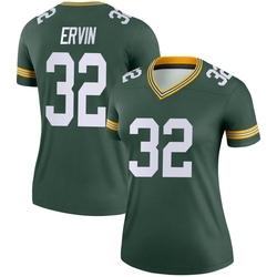 Tyler Ervin Green Bay Packers Women's Legend Nike Jersey - Green