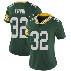 Tyler Ervin Green Bay Packers Women's Limited Team Color Vapor Untouchable Nike Jersey - Green