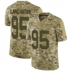 Tyler Lancaster Green Bay Packers Men's Limited 2018 Salute to Service Nike Jersey - Camo