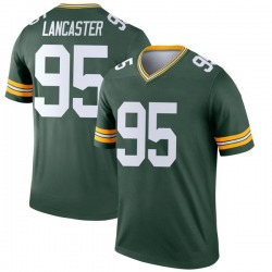 Tyler Lancaster Green Bay Packers Youth Legend Nike Jersey - Green