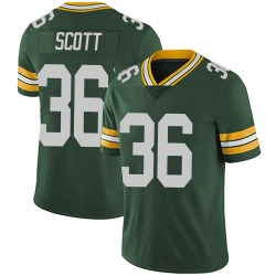 Vernon Scott Green Bay Packers Men's Limited Team Color Vapor Untouchable Nike Jersey - Green