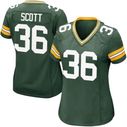 Vernon Scott Green Bay Packers Women's Game Team Color Nike Jersey - Green