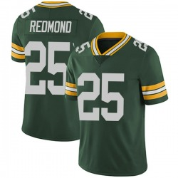 Will Redmond Green Bay Packers Men's Limited Team Color Vapor Untouchable Nike Jersey - Green