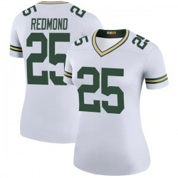 Will Redmond Green Bay Packers Women's Color Rush Legend Nike Jersey - White