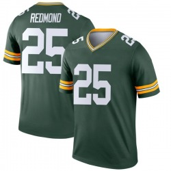 Will Redmond Green Bay Packers Youth Legend Nike Jersey - Green
