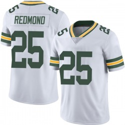 Will Redmond Green Bay Packers Youth Limited Vapor Untouchable Nike Jersey - White