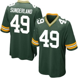 Will Sunderland Green Bay Packers Men's Game Team Color Nike Jersey - Green