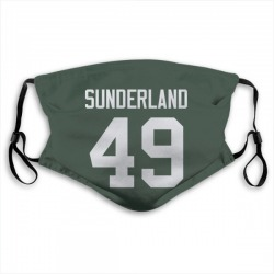 Will Sunderland Green Bay Packers Reusable & Washable Face Mask