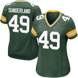 Will Sunderland Green Bay Packers Women's Game Team Color Nike Jersey - Green