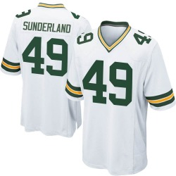 Will Sunderland Green Bay Packers Youth Game Nike Jersey - White