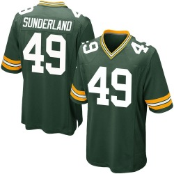 Will Sunderland Green Bay Packers Youth Game Team Color Nike Jersey - Green
