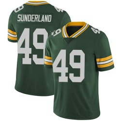 Will Sunderland Green Bay Packers Youth Limited Team Color Vapor Untouchable Nike Jersey - Green