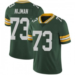 Yosh Nijman Green Bay Packers Men's Limited Team Color Vapor Untouchable Nike Jersey - Green