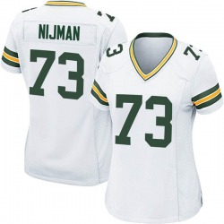 Yosh Nijman Green Bay Packers Women's Game Nike Jersey - White
