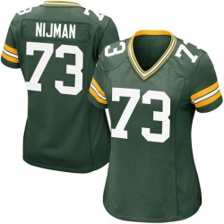Yosh Nijman Green Bay Packers Women's Game Team Color Nike Jersey - Green